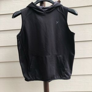 Old Navy work out sleeveless hoodie size L(10-12)